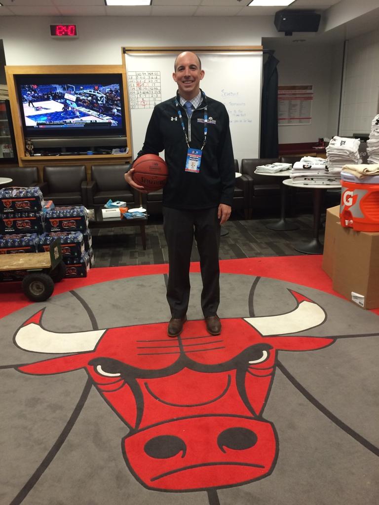 Bulls Old Locker Room
