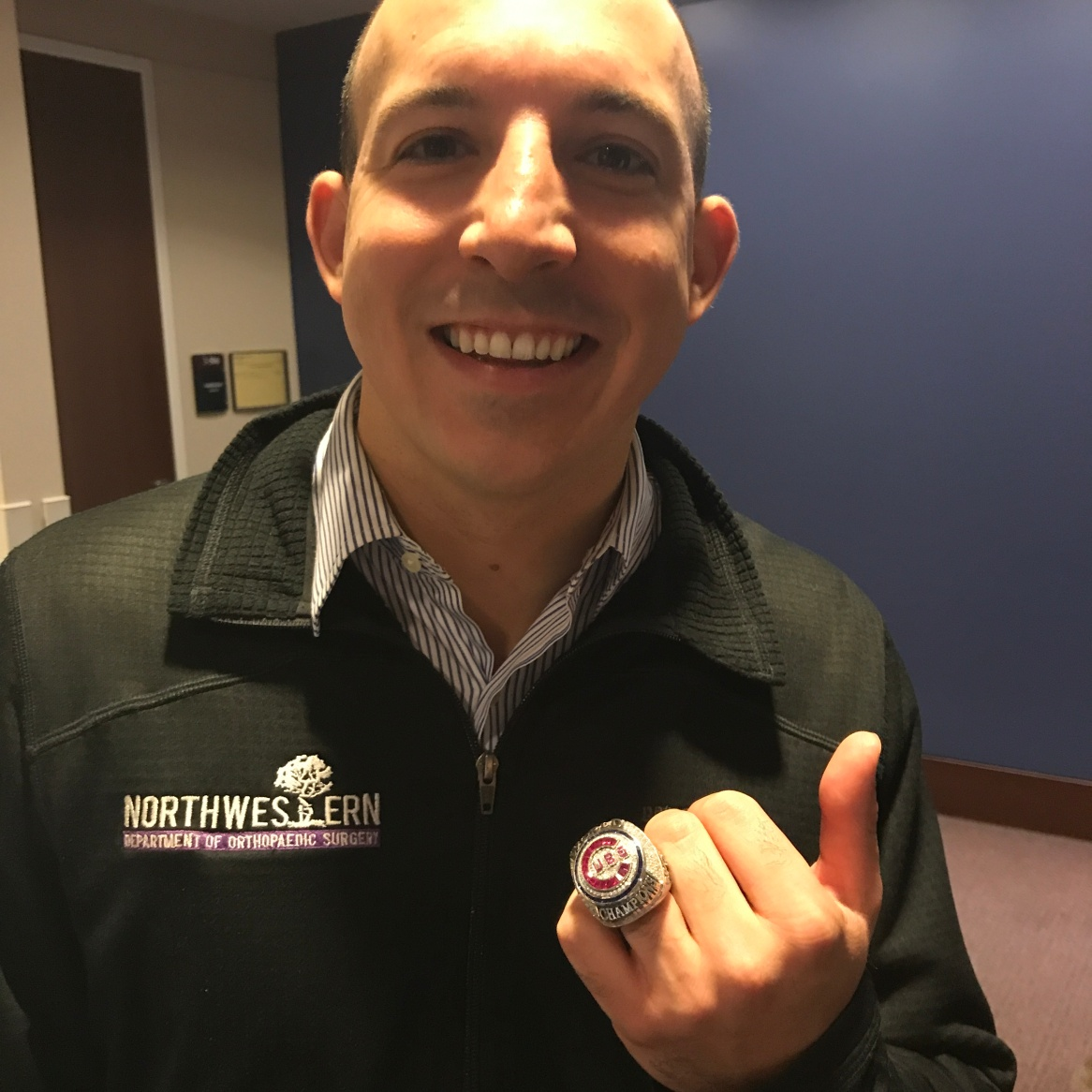 Chicago Cubs WS Ring