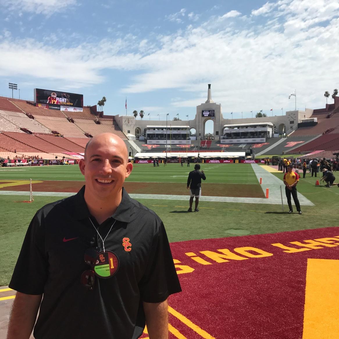 USC Football Sideline