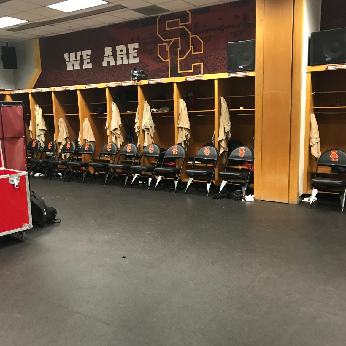 USC Football Locker Room